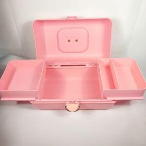 Vintage 90s caboodles pink case